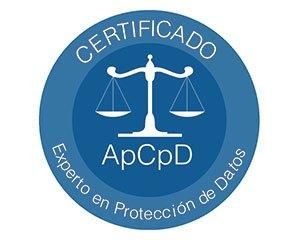 Certificado Experto en Protección de Datos