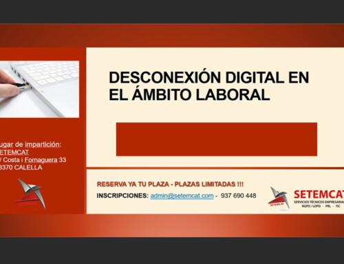 CURSO DESCONEXIÓN DIGITAL EN EL ÁMBITO LABORAL