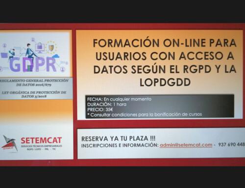 USUARIOS CON ACCESO A DATOS SEGÚN EL RGPD Y LA LOPDGDD