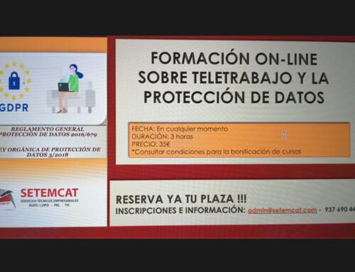 TELETRABAJO Y LA PROTECCIÓN DE DATOS